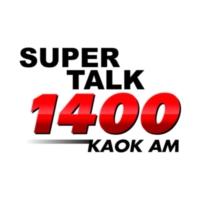 Logo of radio station KAOK Super Talk 1400
