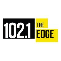 Logo of radio station CFNY-FM 102.1 the Edge