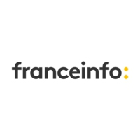 Logo of radio station franceinfo