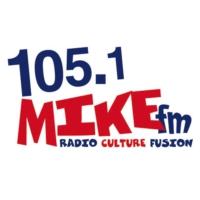 Logo of radio station CKDG-FM 105.1 MIKE FM