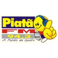 Logo of radio station Piata FM