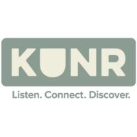 Logo of radio station KUNR