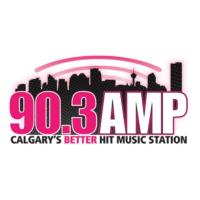 Logo de la radio CKMP-FM 90.3 AMP Radio
