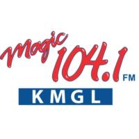 Logo of radio station KMGL Magic 104.1