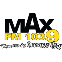Logo of radio station CFQM-FM MAX 103.9 FM