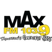 Logo of radio station CFQM-FM MAX 103.9 FM