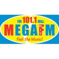 Logo de la radio Mega 101.1 FM