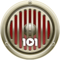 Logo of radio station 101.ru - Rock'n'Roll