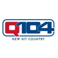 Logo of radio station KBEQ Q104