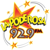 Logo of radio station XHFAC La Poderosa 92.9 FM