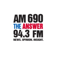 Logo de la radio AM 690 KHNR The ANSWER