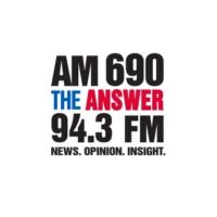 Logo de la radio AM 690 KHNR The ANSWER