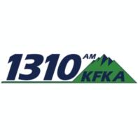 Logo of radio station 1310 KFKA
