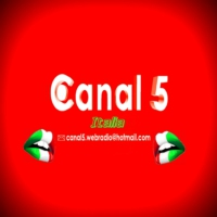 Logo of radio station Canal 5 Italia