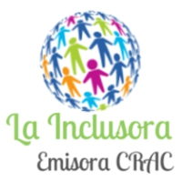 Logo of radio station La Inclusora
