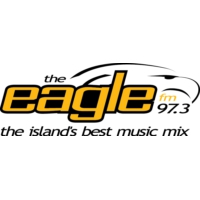 Logo of radio station CKLR-FM 97.3 The Eagle