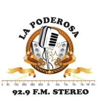 Logo de la radio XHFAC La Poderosa 92.9 FM
