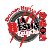 Logo de la radio XHITA La Bestia Grupera 96.5 FM