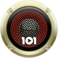 Logo of radio station 101.ru - Elvis Presley