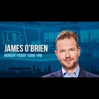 Logo of show James O'Brien