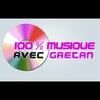 Logo de l'émission 100% musique avec Gaëtan