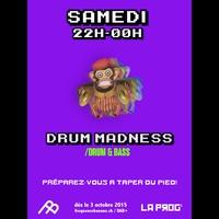 Logo de l'émission Drum Madness