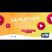 Logo of show La Playlist ACTIV