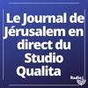 Logo de l'émission Le Journal de Jérusalem en direct du Studio Qualita