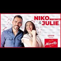 Logo de l'émission e 6-10 de Niko & Julie
