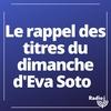 Logo of show Le rappel des titres du dimanche d'Eva Soto