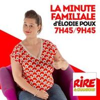 Logo de l'émission La Minute familiale d'Elodie Poux