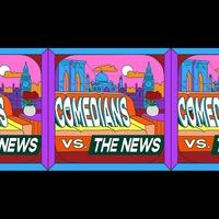 Logo de l'émission Comedians vs The News