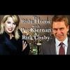 Logo of show The Ride Home with Pat Kiernan & Rita Cosby