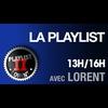 Logo de l'émission La Playlist de Lorent