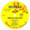 Couverture de l'album Fresh Is the Word - Single
