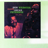 Cover of the track Ben Webster Meets Oscar Peterson