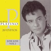 Couverture du titre Serie Platino 20 Exitos: José José, Vol. 2