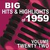 Couverture de l'album Big Hits & Highlights of 1959, Vol. 6