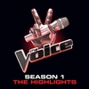 Couverture de l'album The Voice: Season 1 (The Highlights)