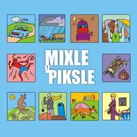Couverture du titre Mixle V Piksle