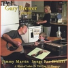 Couverture de l'album Jimmy Martin Songs for Dinner