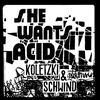 Couverture de l'album She Wants Acid - Single