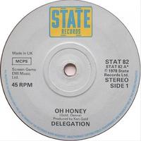 Couverture du titre Oh Honey - Single