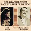Couverture de l'album Jose Mojica / Mario Alberto Rodriguez - Dos Grandes Voces Inolvidables de Mexico