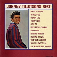 Couverture du titre Johnny Tillotson's Best