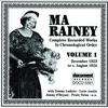 Couverture de l'album Ma Rainey, Vol. 1 (1923-1924)