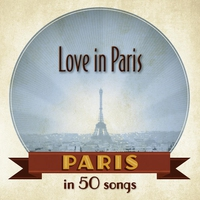 Cover of the track Paris: Love in Paris in 50 songs