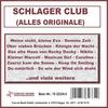 Couverture de l'album Schlager-Club (Alles Originale)