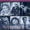 Couverture de l'album The German Song / German Charts of 30's, Recordings 1930 - 1939