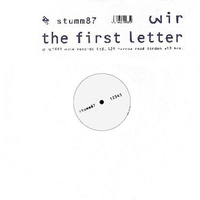 Cover of the track The First Letter